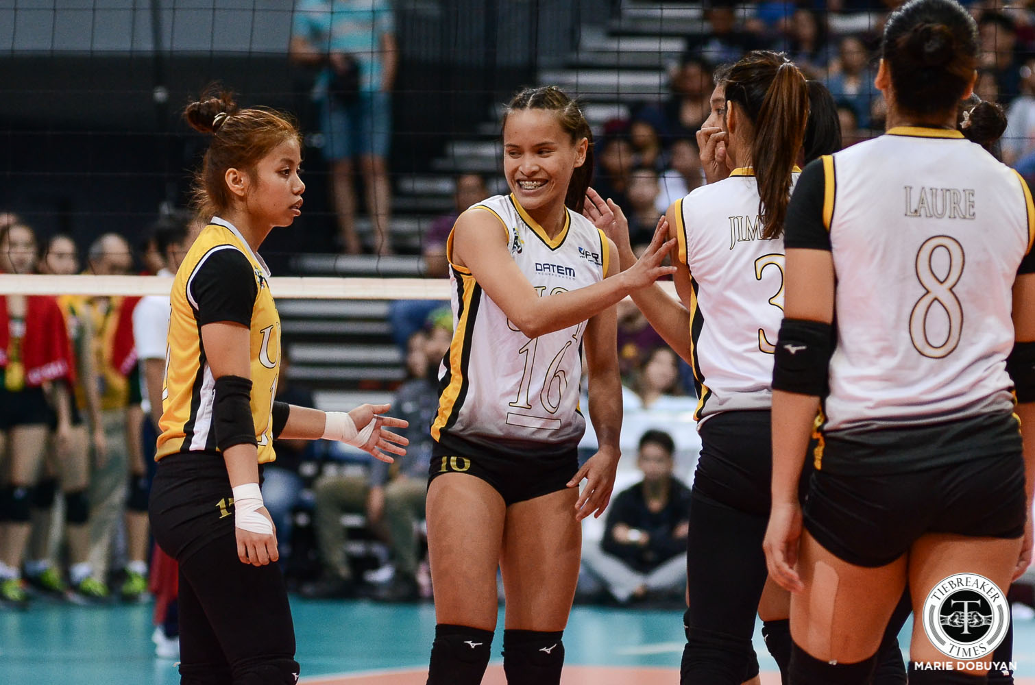 Tiebreaker Times Sisi Rondina looks to keep rallying UST as she seeks proper exit News UAAP UST Volleyball  UST Women's Volleyball UAAP Season 81 Women's Volleyball UAAP Season 81 Eya Laure Cherry Rondina