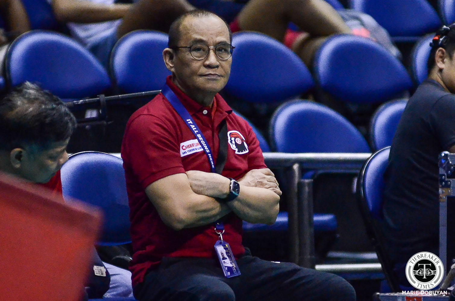 Tiebreaker Times How to solve UE's woes? Chongson says change management style Basketball News UAAP UE  UE Men's Basketball UAAP Season 82 Men's Basketball UAAP Season 82 Lawrence Chongson