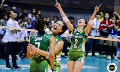 Tiebreaker Times La Salle Lady Spikers put on clinic, shut down Ateneo's 10-game win streak ADMU DLSU News UAAP Volleyball  UAAP Season 81 Women's Volleyball UAAP Season 81 Ramil De Jesus Ponggay Gaston Oliver Almadro Michelle Cobb Lourdes Clemente Jolina Dela Cruz DLSU Women's Volleyball Carmel Saga Bea De Leon Ateneo Women's Volleyball
