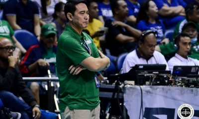 Tiebreaker Times Ramil De Jesus surprised, elated at La Salle's sweep of Ateneo DLSU News UAAP Volleyball  UAAP Season 81 Women's Volleyball UAAP Season 81 Ramil De Jesus DLSU Women's Volleyball