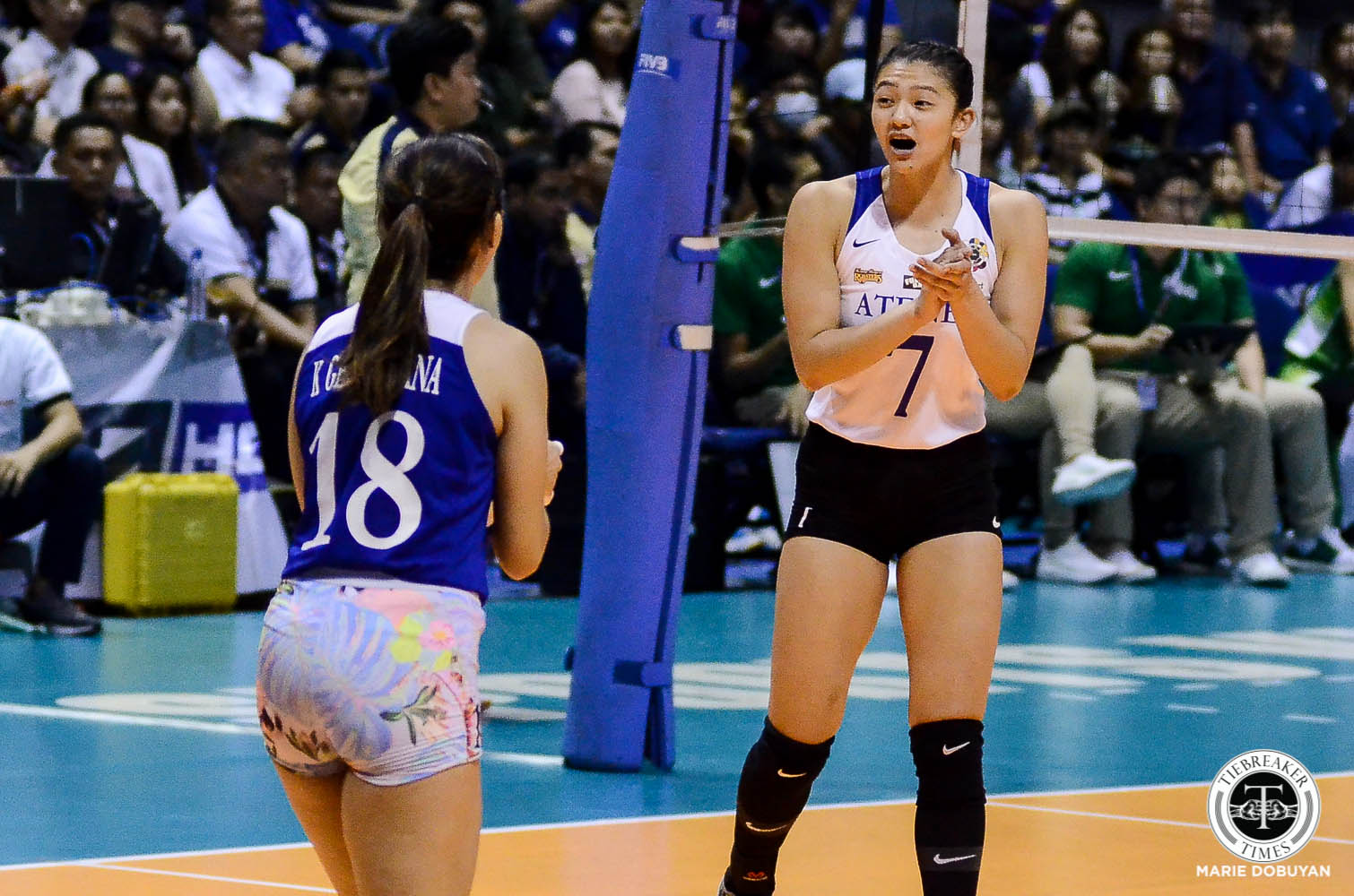 Tiebreaker Times Zero blocks not a worry for Madayag, Tolentino, De Leon ADMU News UAAP Volleyball  UAAP Season 81 Women's Volleyball UAAP Season 81 Maddie Madayag Kat Tolentino Bea De Leon Ateneo Women's Volleyball