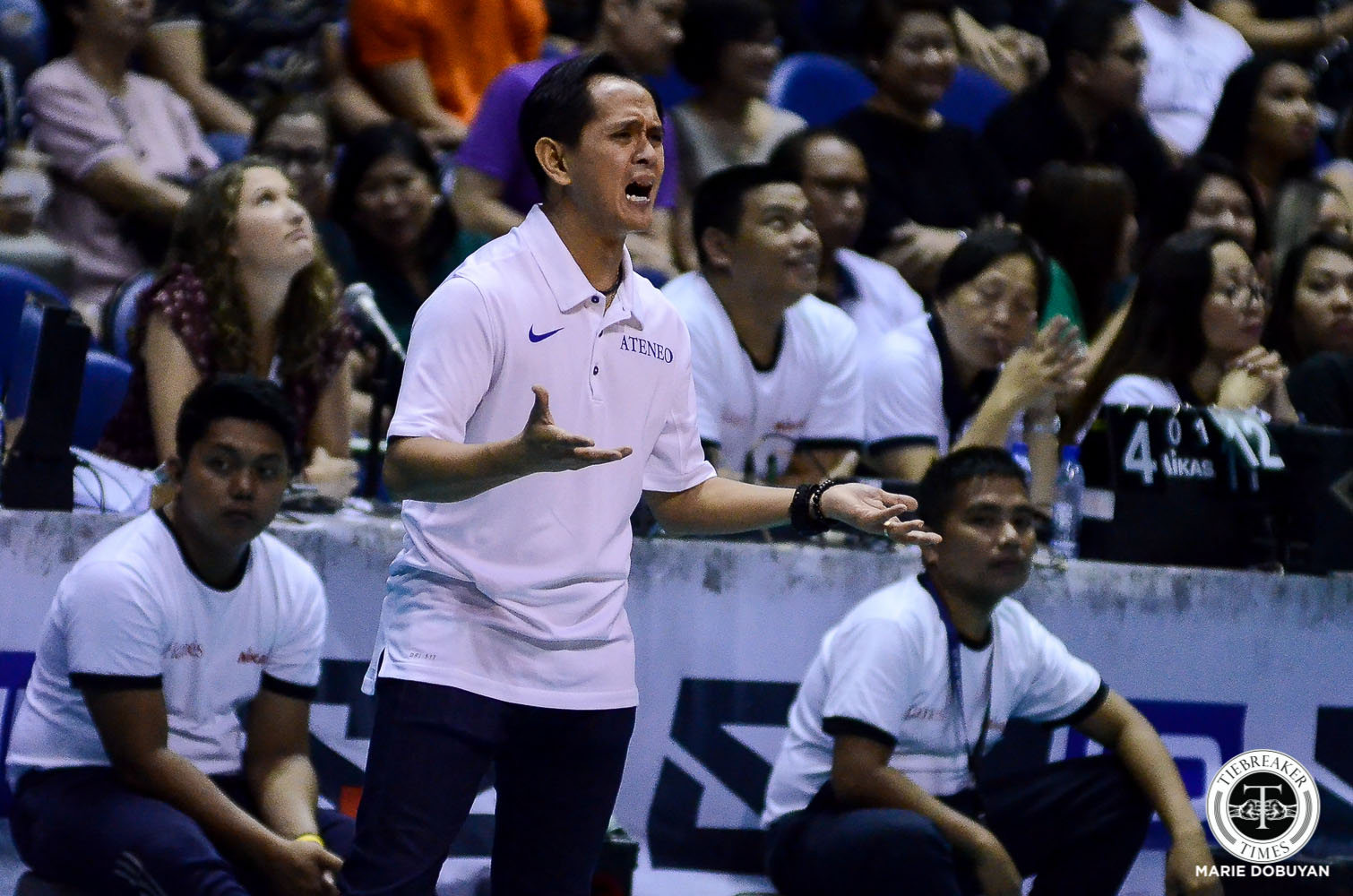 Tiebreaker Times Oliver Almadro does not want Lady Eagles to dwell on 'uncharacteristic' loss ADMU News UAAP Volleyball  UAAP Season 81 Women's Volleyball UAAP Season 81 Oliver Almadro Ateneo Women's Volleyball