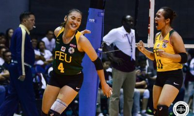 Tiebreaker Times Guino-O, Malabanan, Negrito find groove just in time for FEU FEU News UAAP Volleyball  UAAP Season 81 Women's Volleyball UAAP Season 81 Kyle Negrito Kyla Negrito Jerrili Malabanan FEU Women's Volleyball