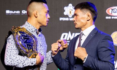Tiebreaker Times Martin Nguyen, Jadambaa out to test who has 'the greater power' come Roots of Honor Mixed Martial Arts News ONE Championship  ONE: Roots of Honor Narantungalag Jadambaa Martin Nguyen