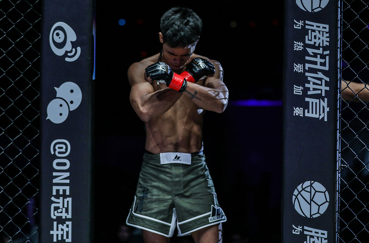 Tiebreaker Times Streaking Ramon Gonzales remains hungrier than ever Mixed Martial Arts News ONE Championship  Ramon Gonzales one: dreams of gold