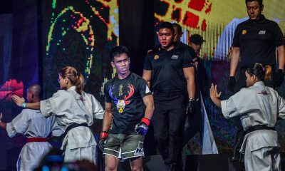 Tiebreaker Times Ramon Gonzales vows to improve on pre-event conditioning after failed test Mixed Martial Arts News ONE Championship  Ramon Gonzales one: dreams of gold