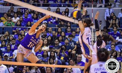 Tiebreaker Times Chooks/Collegiate PC POW Kat Tolentino remains focused on task at hand ADMU News UAAP Volleyball  UAAP Season 81 Women's Volleyball UAAP Season 81 UAAP Player of the Week Kat Tolentino Chooks-to-Go
