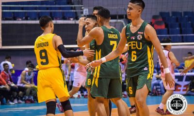 Tiebreaker Times FEU Tamaraws regain form, hammer UE to remain at 2nd FEU News UAAP UE Volleyball  Victorio Turing UE Men's Volleyball UAAP Season 81 Men's Volleyball UAAP Season 81 Rey Diaz Owen Suarez Noel Alba Lloyd Josafat Jude Garcia JP Bugaoan Jeremiah Barrica FEU Men's Volleyball