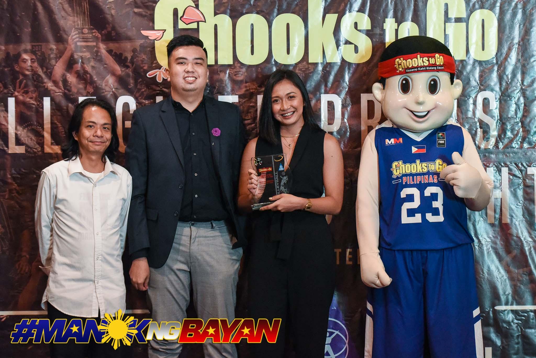 2019-Collegiate-Sports-Awards-Regine-Arocha Heartbroken Regine Arocha hangs Arellano Lady Chiefs jersey for good AU NCAA News Volleyball  - philippine sports news
