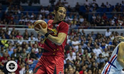 Tiebreaker Times June Mar Fajardo to miss PH cup, more due to leg injury Basketball News PBA  San Miguel Beermen PBA Season 45 June Mar Fajardo 2020 PBA Philippine Cup