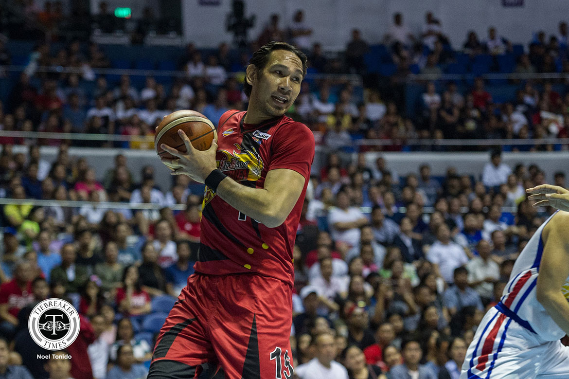 Tiebreaker Times To escape Magnolia, June Mar Fajardo needed to break a 44-year-old record Basketball News PBA  San Miguel Beermen PBA Season 44 June Mar Fajardo 2019 PBA Philippine Cup
