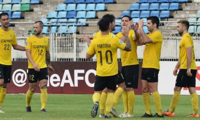 Tiebreaker Times Bienve Maranon scores thrice anew as Ceres routs Shan United to enter knockouts AFC Cup Football News  Shan United Risto Vidakovic OJ Porteria Mike Ott Ceres-Negros FC Carli De Murga Bienvenido Marañon 2019 AFC Cup