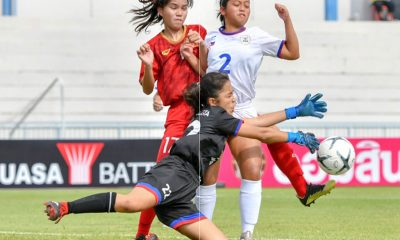 Tiebreaker Times Philippines U15 finishes 4th in AFF Girls Championship Football News Philippine Malditas  Rachelle Delos Reyes Philippine Girls U15 Football Team Maria Evangelista 2019 AFF U-15 Girls Championship