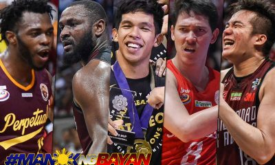 Tiebreaker Times Thirdy Ravena, Robert Bolick headline All-Collegiate Team ADMU Basketball NCAA News UAAP UP UPHSD  UAAP Season 81 Men's Basketball UAAP Season 81 Thirdy Ravena Robert Bolick Prince Eze Paul Desiderio NCAA Season 94 Seniors Basketball NCAA Season 94 Chooks-to-Go Bright Akhuetie 2019 Collegiate Sports Awards