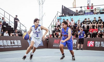 Tiebreaker Times Gilas Women's 3x3 score largest rout in FIBA 3x3 history with romp of Samoa 3x3 Basketball Gilas Pilipinas News  Samoa (Basketball) Patrick Aquino Janine Pontejos Jack Animam Gilas Pilipinas 3x3 Clare Castro Afril Bernardino 2019 FIBA 3X3 Asia Cup
