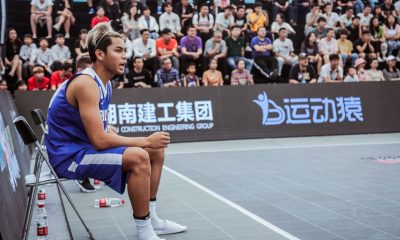 Tiebreaker Times Ricci Rivero out for rest of FIBA 3X3 Asia Cup qualifiers 3x3 Basketball Gilas Pilipinas News  Ronnie Magsanoc Ricci Rivero Gilas Pilipinas 3x3 2019 FIBA 3X3 Asia Cup