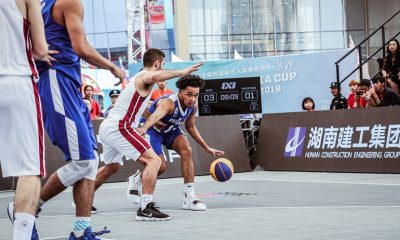 Tiebreaker Times Experienced Qatar sends short-handed Gilas Men's 3x3 to the brink of elimination 3x3 Basketball Gilas Pilipinas News  Ronnie Magsanoc RJ Abarrientos Rhayyan Amsali Qatar (Basketball) Gilas Pilipinas 3x3 Barkley Ebona 2019 FIBA 3X3 Asia Cup