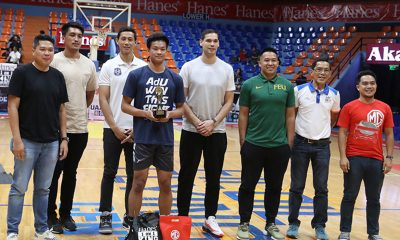 Tiebreaker Times Adamson's AP Manlapaz, FEU's Ken Tuffin take down Filoil All-Star side events AdU Basketball FEU News  Ken Tuffin AP Manlapaz 2019 Filoil Flying V Preseason Cup