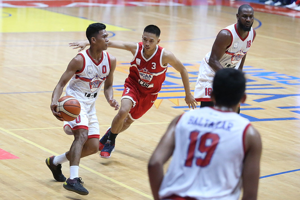 Tiebreaker Times In a span of two months, Mark Nonoy plays in juniors and seniors All-Star Game Basketball NBTC News UST  Mark Nonoy 2019 NBTC Season 2019 Filoil Flying V Preseason Cup