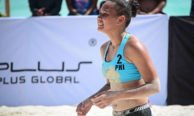 Tiebreaker Times Barbon-Eslapor bow to Lithuania in FIVB Boracay Open qualifiers Beach Volleyball BVR News  Karole Virbickaite Gerda Grudzinskaite Gen Eslapor Bernadeth Pons Babylove Barbon 2019 FIVB Beach Volleyball World Tour 1-star 2019 BVR Season