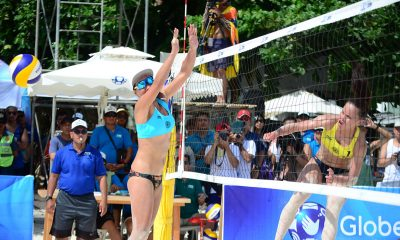 Tiebreaker Times Cherry Rondina-Bernadeth Pons fall to Japan to finish in 5th place Beach Volleyball BVR News  Cherry Rondina Bernadeth Pons 2019 FIVB Beach Volleyball World Tour 1-star 2019 BVR Season