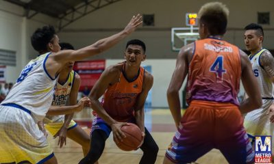 Tiebreaker Times Bauzon, Caloocan Supremos stay ahead of Manila after road win in Pateros Basketball News PBA M-League  Solid San Juan Raymond Miller Michael De Leon Manila Stars Johnnel Bauzon JOggy Laude Isang Pateros Francis Camacho Caloocan Supremos Angel Mendoza 2019 M-League Reinforced Conference
