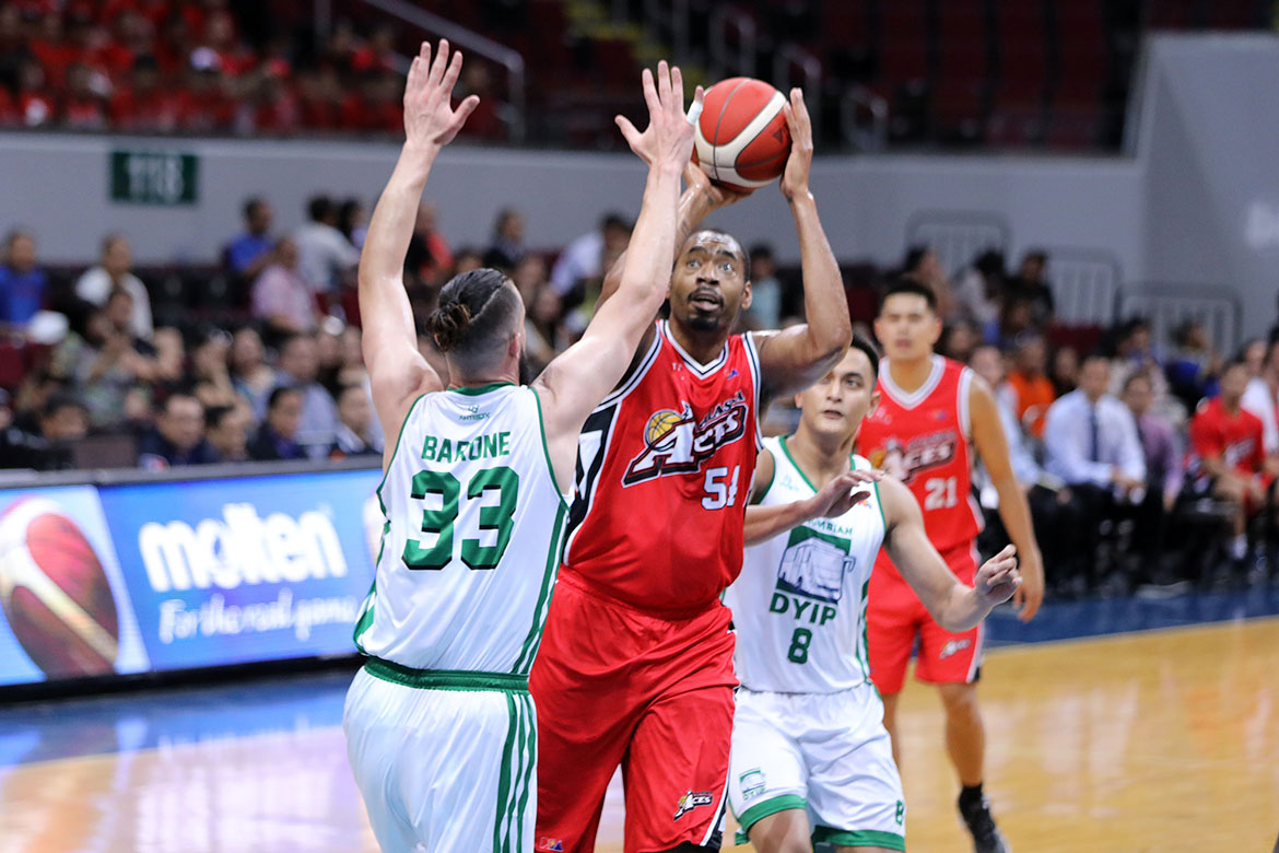 Tiebreaker Times Alex Compton on veteran journeyman Chris Daniels: 'He's like a coach' Basketball News PBA  PBA Season 44 Chris Daniels Alex Compton Alaska Aces 2019 PBA Commissioners Cup