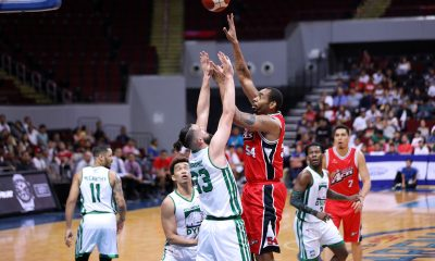 Tiebreaker Times Chris Daniels impresses in debut as Alaska wallops Columbian Basketball News PBA  PBA Season 44 Columbian Dyip Alaska Aces 2019 PBA Commissioners Cup