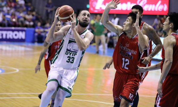 Tiebreaker Times Columbian looking to replace Kyle Barone following 0-3 start Basketball News PBA  PBA Season 44 Kyle Barone Johnedel Cardel Columbian Dyip 2019 PBA Commissioners Cup