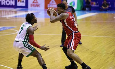 Tiebreaker Times Ray Parks shrugs off physical play even if nose bled: 'Nothing new to me' Basketball News PBA  PBA Season 44 Bobby Ray Parks Jr. Blackwater Elite 2019 PBA Commissioners Cup