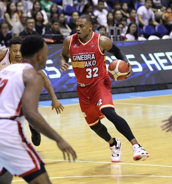 Tiebreaker Times Justin Brownlee expects big things from good friend Ray Parks Alab Pilipinas Basketball News PBA  PBA Season 44 Justin Brownlee Bobby Ray Parks Jr. Blackwater Elite Barangay Ginebra San Miguel 2019 PBA Commissioners Cup