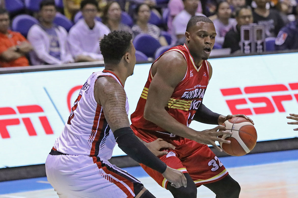 Tiebreaker Times No need to panic as Ginebra still regaining form, says Justin Brownlee Basketball News PBA  PBA Season 44 Justin Brownlee Barangay Ginebra San Miguel 2019 PBA Commissioners Cup