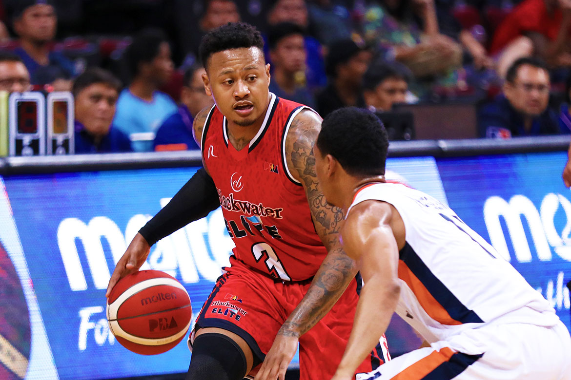 Tiebreaker Times With first PBA game now in the books, Ray Parks excited to see how career unfolds Basketball News PBA  PBA Season 44 Bobby Ray Parks Jr. Blackwater Elite 2019 PBA Commissioners Cup