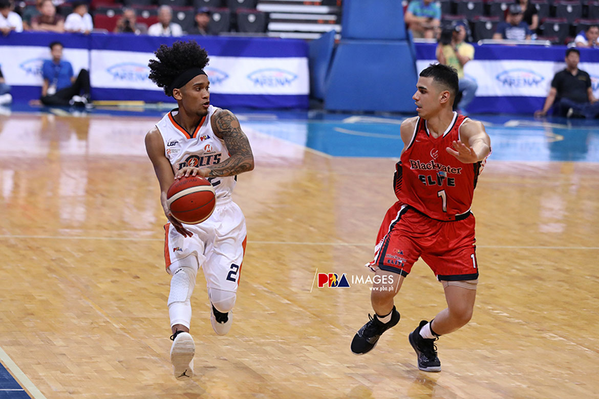 Tiebreaker Times Trevis Jackson plans to repay Black's trust after missing potential game-winner Basketball News PBA  Trevis Jackson PBA Season 44 Meralco Bolts 2019 PBA Commissioners Cup