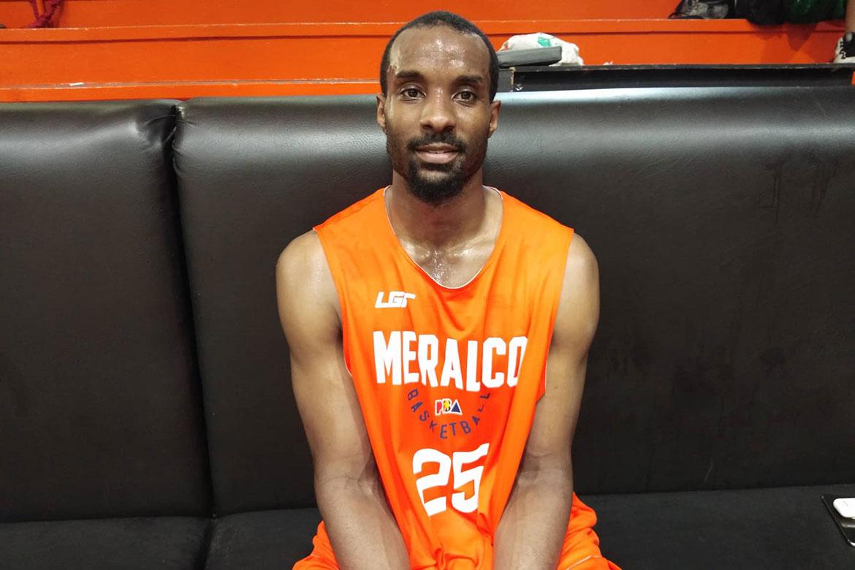 Tiebreaker Times High expectations as Meralco import not bothering Gani Lawal Basketball News PBA  PBA Season 44 Meralco Bolts Gani Lawal 2019 PBA Commissioners Cup