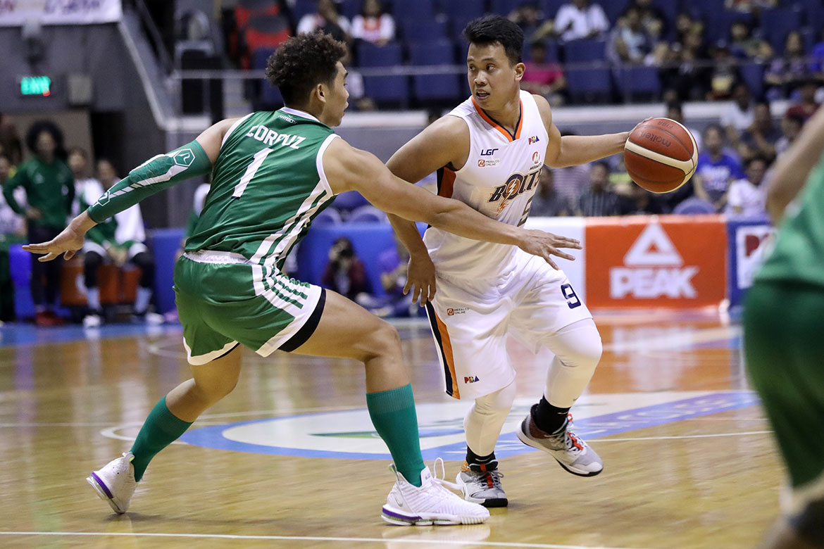 Tiebreaker Times New 1-2 punch rising for Meralco in Baser Amer, Trevis Jackson Basketball News PBA  Trevis Jackson PBA Season 44 Norman Black Meralco Bolts Baser Amer 2019 PBA Commissioners Cup