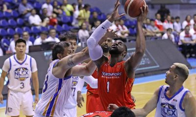 Tiebreaker Times Prince Ibeh vows to get better after 1-of-12 FT shooting vs NLEX Basketball News PBA  Prince Ibeh PBA Season 44 Northport Batang Pier 2019 PBA Commissioners Cup