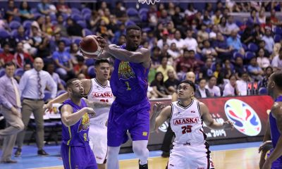 Tiebreaker Times Terrence Jones heats up both on and off court as TNT drubs Alaska Basketball News PBA  TNT Katropa Terrence Jones PBA Season 44 JVee Casio Jayson Castro Chris Daniels Bong Ravena Anthony Semerad Alex Compton Alaska Aces 2019 PBA Commissioners Cup