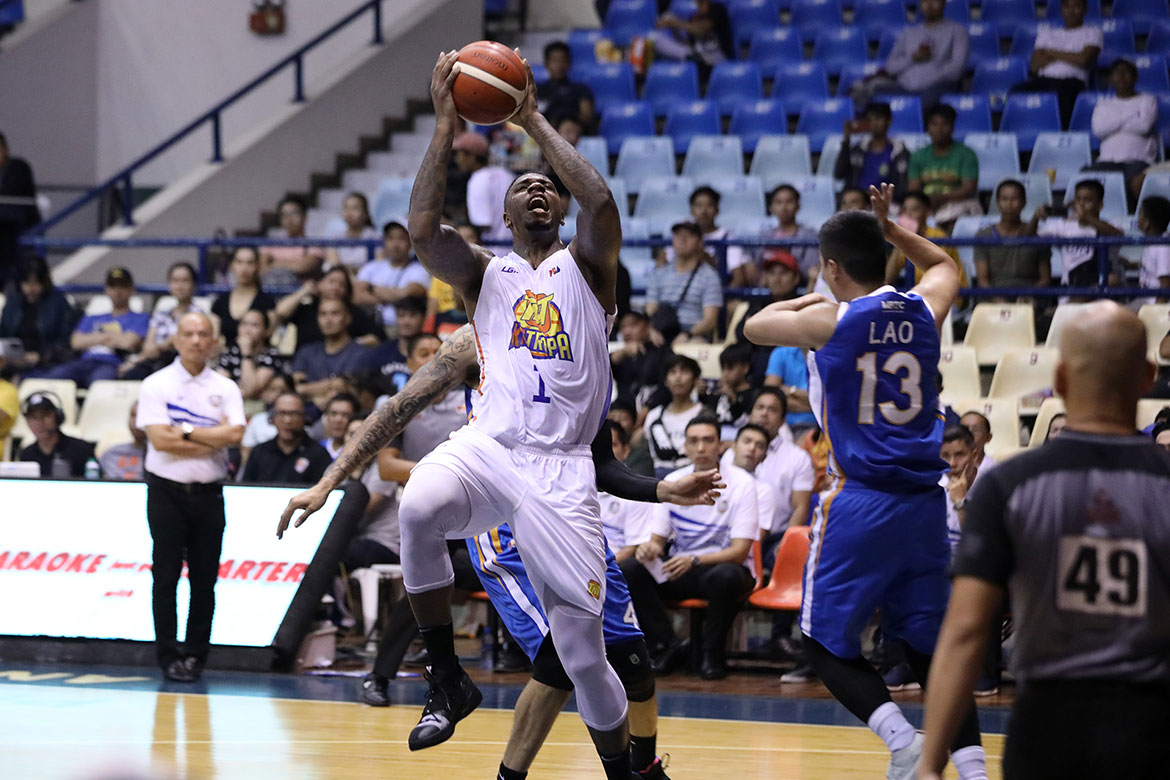 Tiebreaker Times Even after 41-point debut, Terrence Jones still sees room for improvement Basketball News PBA  TNT Katropa Terrence Jones PBA Season 44 Bong Ravena 2019 PBA Commissioners Cup