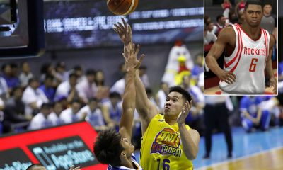 Tiebreaker Times Roger Pogoy can't believe he's playing with Terrence Jones: 'Ginagamit ko siya sa 2K' Basketball News PBA  TNT Katropa Terrence Jones Roger Pogoy PBA Season 44 2019 PBA Commissioners Cup