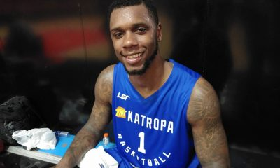 Tiebreaker Times Disappointed he could not help Houston in playoffs, Terrence Jones looks to lift TNT Basketball News PBA  TNT Katropa Terrence Jones PBA Season 44 2019 PBA Commissioners Cup