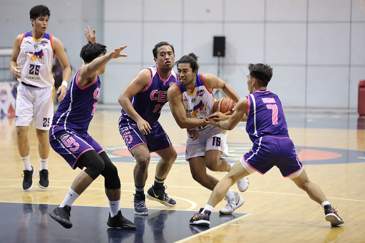Tiebreaker Times Gab Banal looks to share experience with CSB guards Basketball CSB News PBA D-League  Go for Gold-CSB Gab Banal 2019 PBA D-League Season