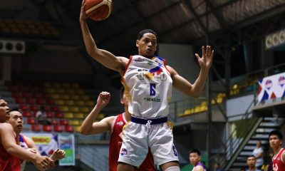 Tiebreaker Times Go for Gold-CSB pummels McDavid to punch playoff ticket Basketball CSB News PBA D-League  Roosevelt Adams Michole Sorela McDavid Justin Melano Justin Gutang Jerwin Gaco Go for Gold-CSB Edward Dixon Clement Leutcheu Charles Tiu Allen Ricardo 2019 PBA D-League Season