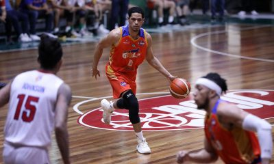 Tiebreaker Times Roosevelt Adams, Go for Gold-CSB weather AMA trio to rise to 4th Basketball CSB News PBA D-League  Troy Rike Roosevelt Adams Rob Nayve Mark Herrera Joshua Munzon Go for Gold-CSB Franky Johnson Charles Tiu AMA Online Education Titans 2019 PBA D-League Season