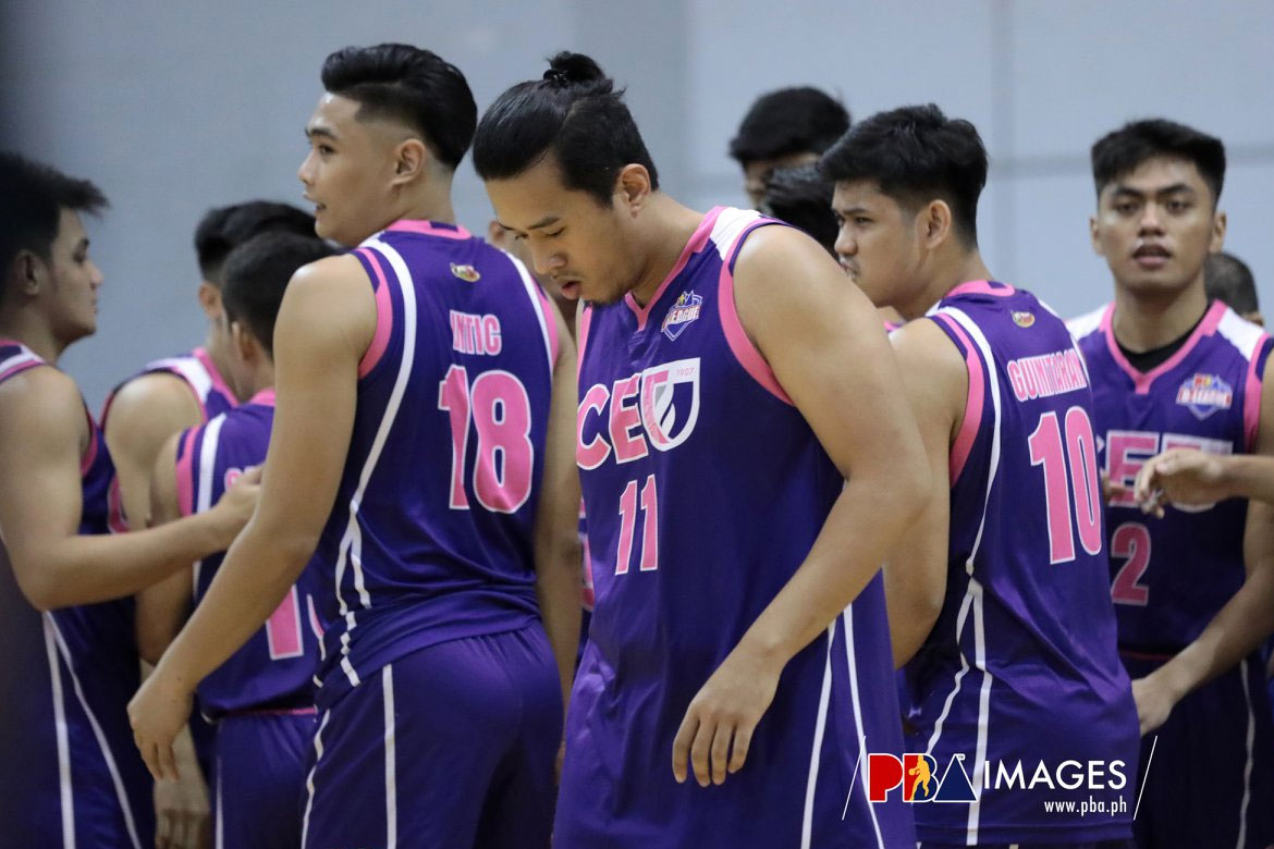 Tiebreaker Times CEU Scorpions embroiled in game-fixing allegations Basketball News PBA D-League  Derrick Pumaren CEU Scorpions 2019 PBA D-League Season