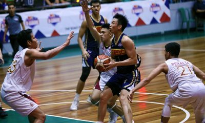 Tiebreaker Times Dave Ildefonso makes sure SMDC-NU campaign ends on high note Basketball News NU PBA D-League UPHSD  Tonton Peralta SMDC-NU Bulldogs Perpetual Seniors Basketball Patrick Yu Kim Aurin John Lloyd Clemente Jamike Jarin Issa Gaye Frankie Lim Dave Ildefonso Ben Adamos 2019 PBA D-League Season