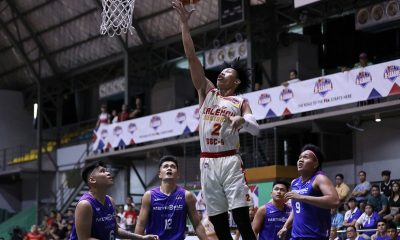 Tiebreaker Times JM Calma steps up in 2OT as Valencia City-Baste completes huge comeback against MetroPac-SBU Basketball News PBA D-League SBC SSC-R  RK Ilagan MetroPac-San Beda Movers JM Calma James Canlas Egay Macaraya Donald Tankoua Clint Doliguez City of Valencia Bukidnon-San Sebastian Golden Harvest Boyet Fernandez Allyn Bulanadi 2019 PBA D-League Season
