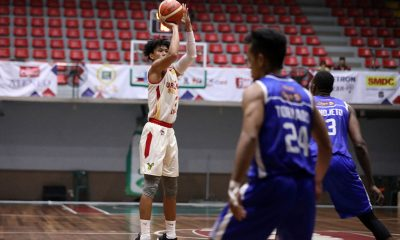 Tiebreaker Times JM Calma tows Valencia City-San Sebastian to Foundation Group top seed Basketball News PBA D-League SSC-R  RK Ilagan Rensy Bajar Kris Torrado Kevin Gandjeto JM Calma Egay Macaraya Diliman-Gerry's Grill Blue Dragons City of Valencia Bukidnon-San Sebastian Golden Harvest Allyn Bulanadi 2019 PBA D-League Season
