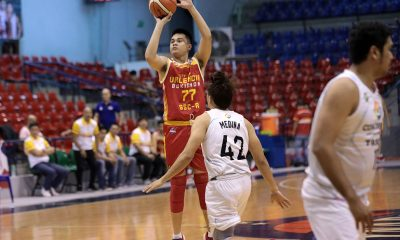 Tiebreaker Times Emmanuel Bonleon breaks out as Valencia City-Baste closes in on Foundation Group top seed Basketball News PBA D-League SSC-R  The Masterpiece-Trinity Stallions John Tayongtong JM Calma Emmanuel Bonleon Egay Macaraya Clark Derige City of Valencia Bukidnon-San Sebastian Golden Harvest Alvin Grey Allyn Bulanadi 2019 PBA D-League Season