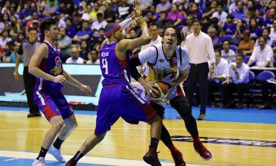 Tiebreaker Times Ian Sangalang admits: 'Mahirap talaga 'pag dinominate ni June Mar yung laro' Basketball News PBA  PBA Season 44 Magnolia Hotshots Ian Sangalang 2019 PBA Philippine Cup